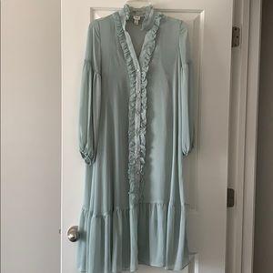 Never Worn ASOS Sage Green Dress Size 2 US